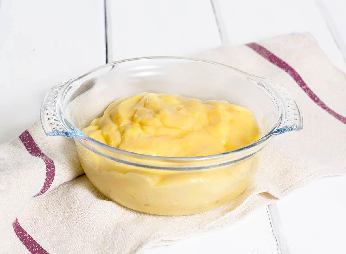 se puede congelar la crema pastelera thermomix