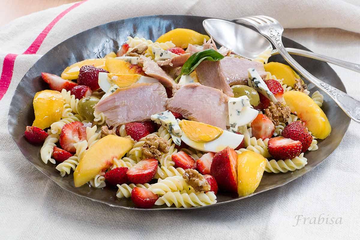 Ensalada de pasta fruta y ventresca la cocina de - Ensalada fresca de pasta ...