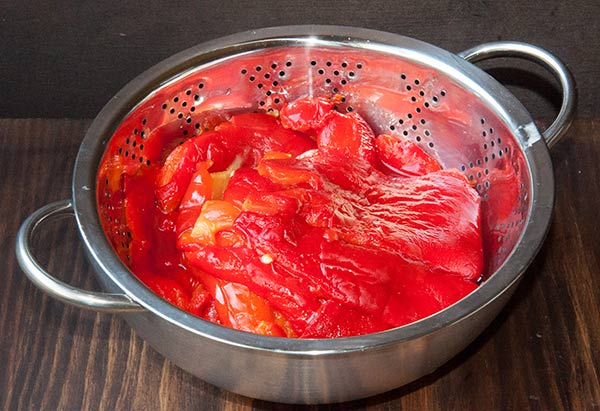 confitura, mermelada, pimientos rojos