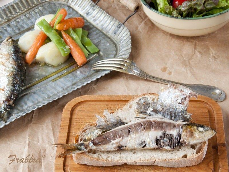 sardinas, asadas, horno, sin mal olor, receta
