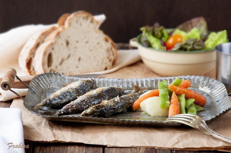 Sardinas asadas en el horno y truco contra el olor la - Como cocinar sardinas ...