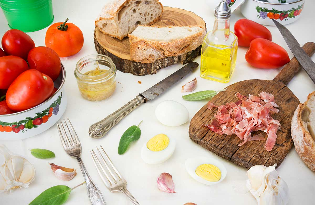 receta, salmorejo cordobes, tomates