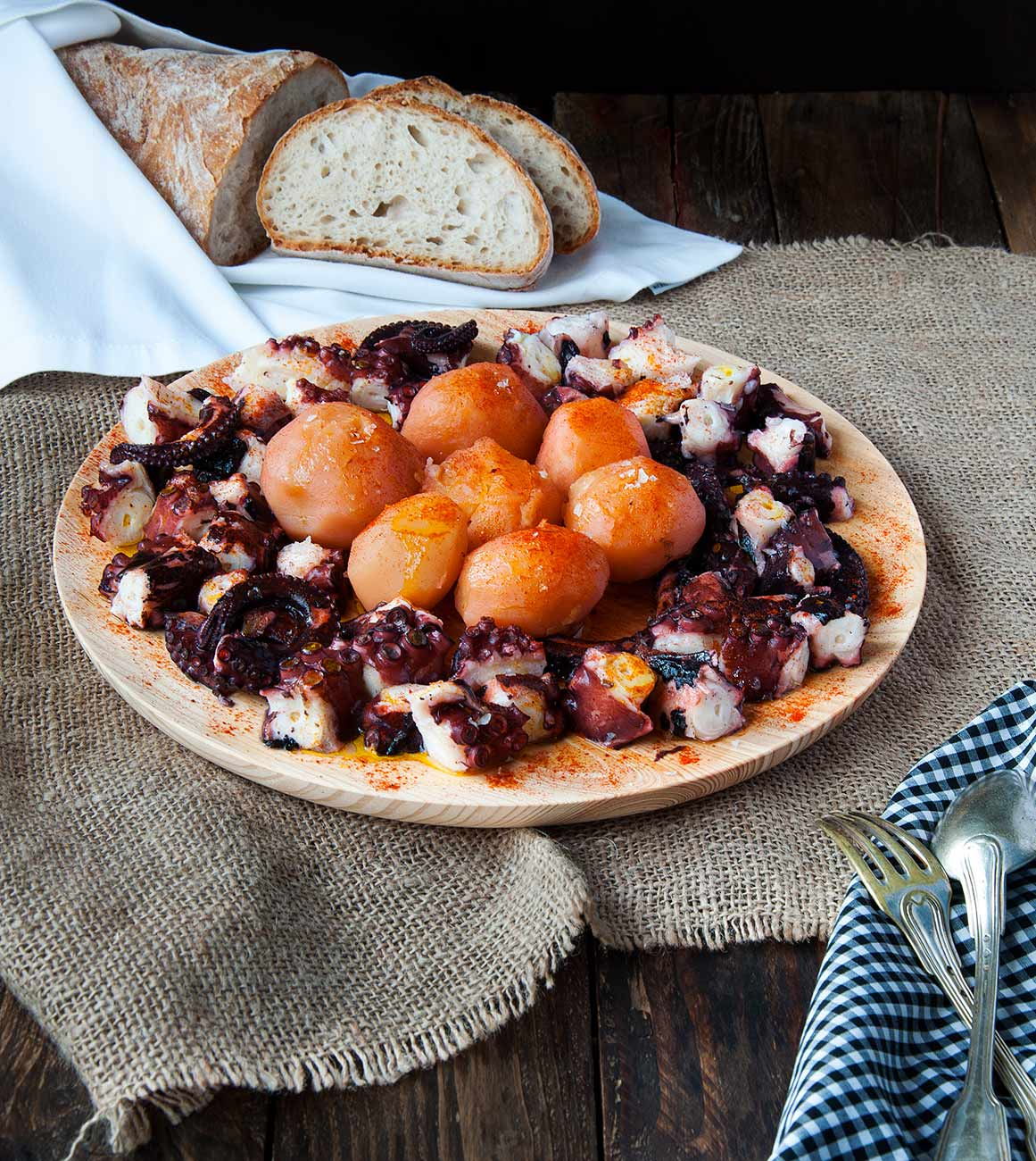 Receta de pulpo a feira cocina gallega la cocina de Como se cocina el pulpo