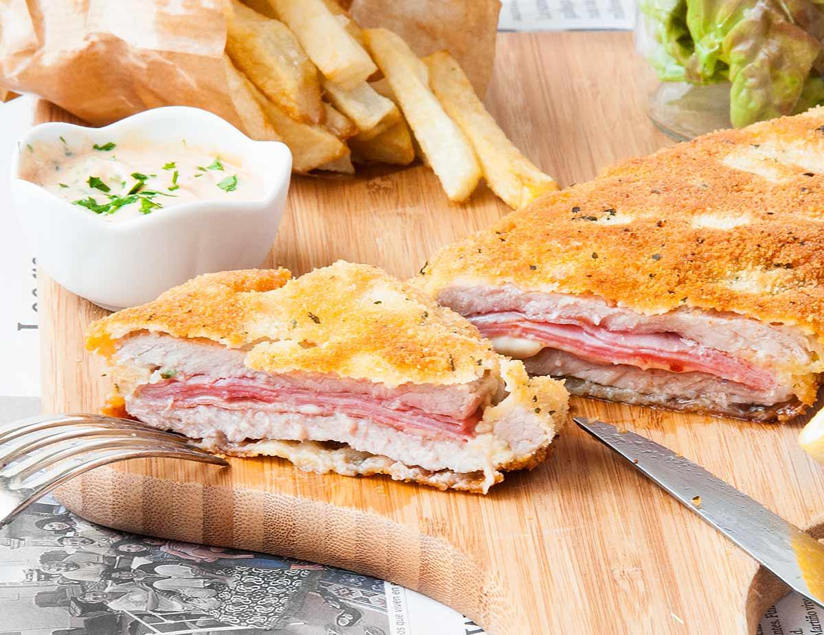 Milanesas rellenas y patatas fritas la cocina de frabisa - Cocinar calabaza frita ...