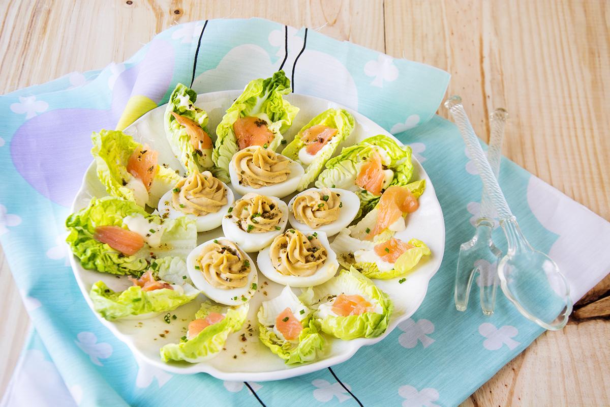 huevos rellenos de salm n y anchoas la cocina de frabisa
