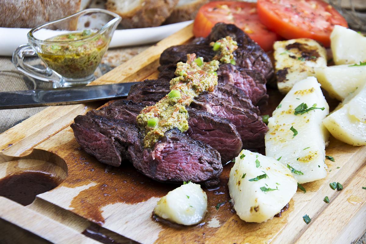 entra a asada a la plancha la mejor carne la cocina de