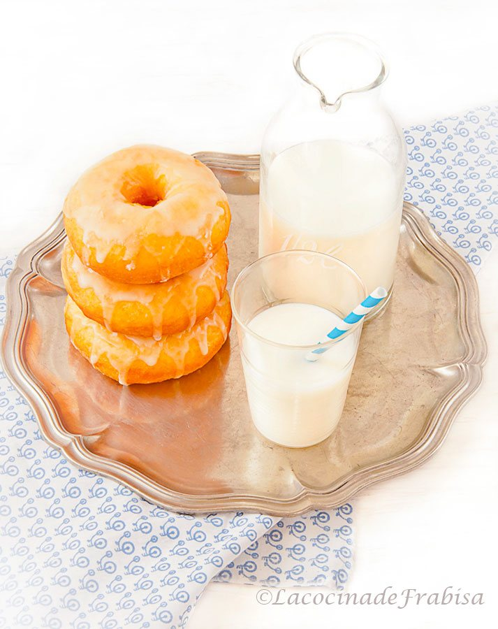 Donuts Caseros. EN THERMOMIX, MANUAL Y PANIFICADORA.