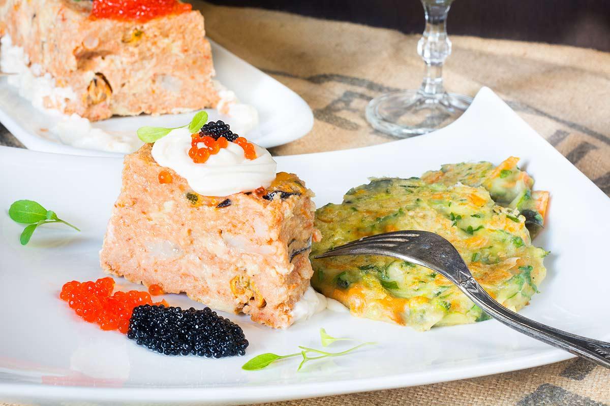 Pastel de bacalao gambas y mejillones frescos cocina de for Como cocinar lomos de bacalao