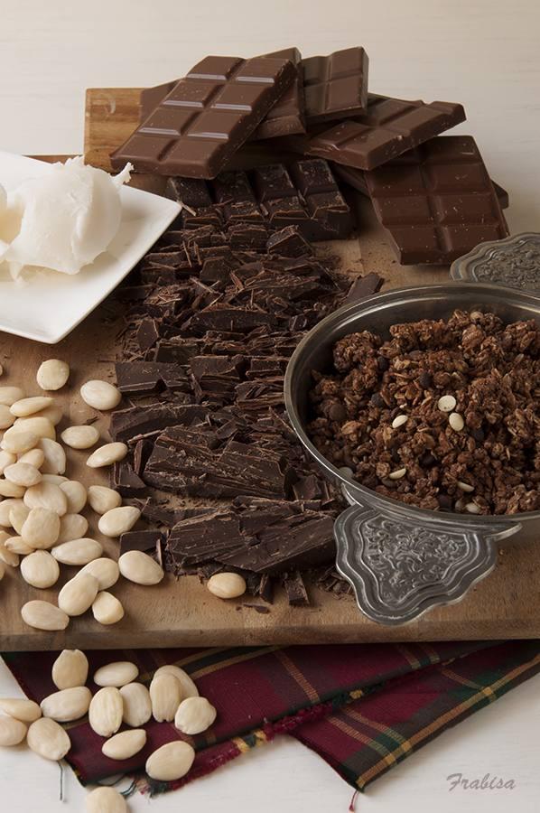 Turrón de Chocolate, EXPRESS, Fácil.