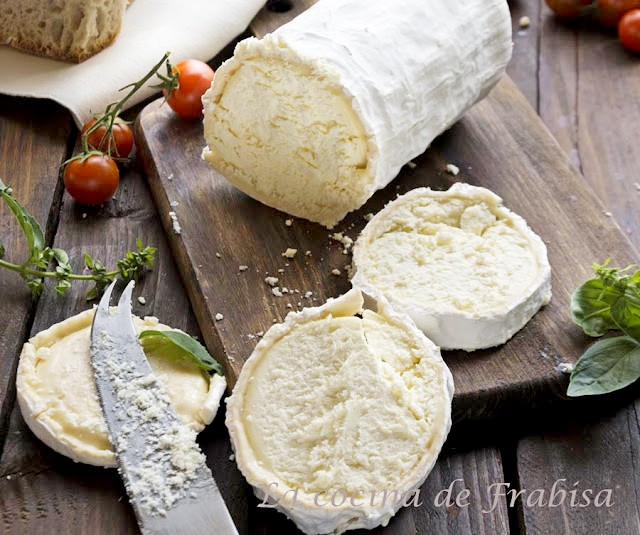 timbal, verduras, queso cabra, gratinado