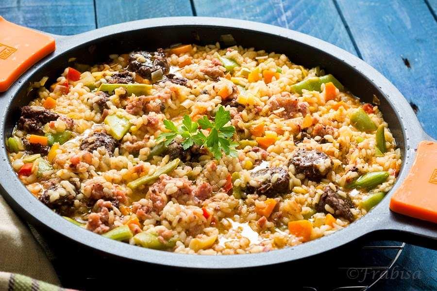 arroz, morcilla, salchichas, frabisa2