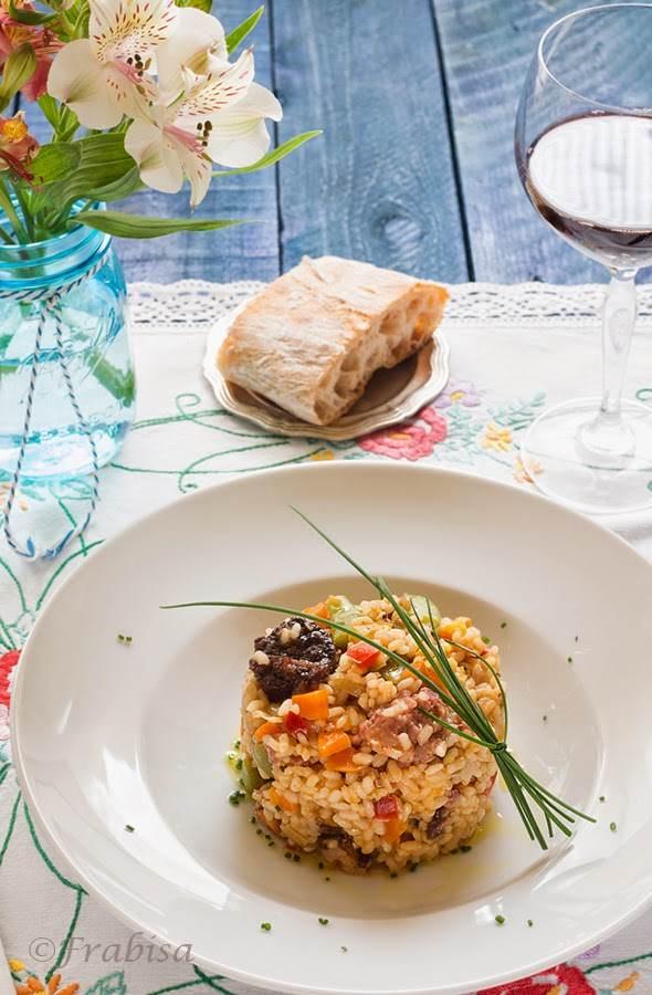 arroz, morcilla, salchichas, frabisa3