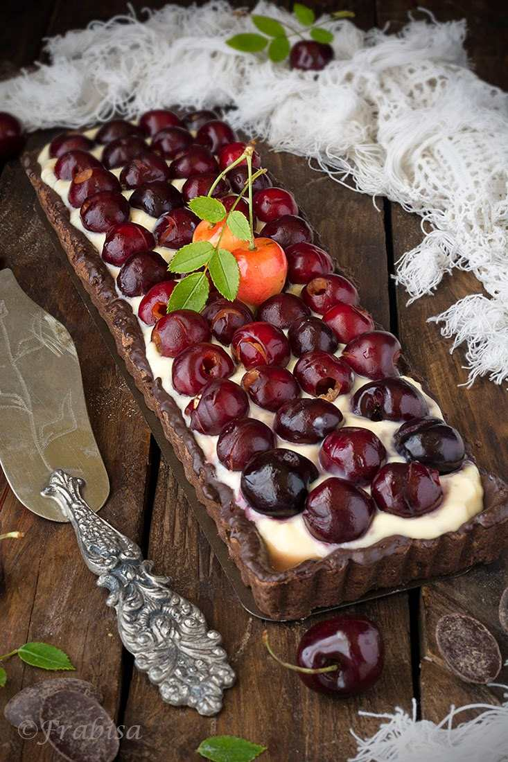 tarta chocolate cerezas frabisa