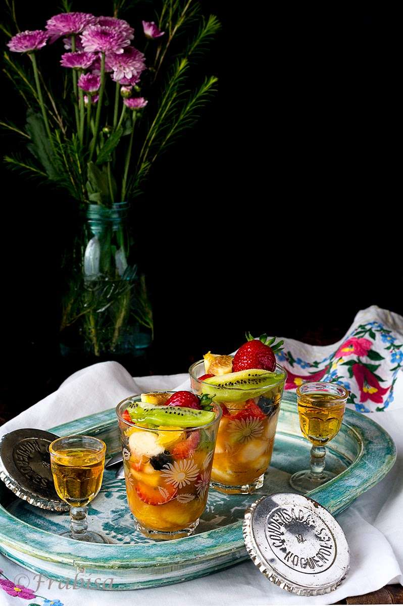 macedonia, frutas, postre saludable