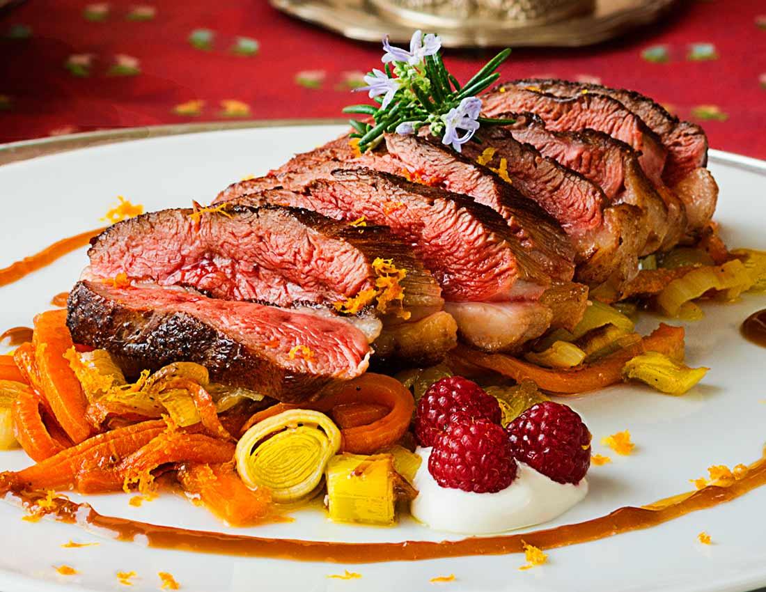 Receta de magret de pato con salsa de naranja la cocina for Pato a la naranja al horno