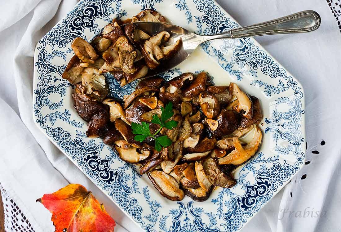 setas shiitake con foie fresco la cocina de frabisa la