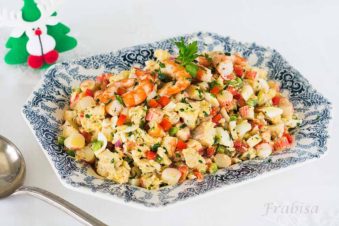 Salpic n de rape y marisco cocina de fiesta la cocina for Cocinar xoubas