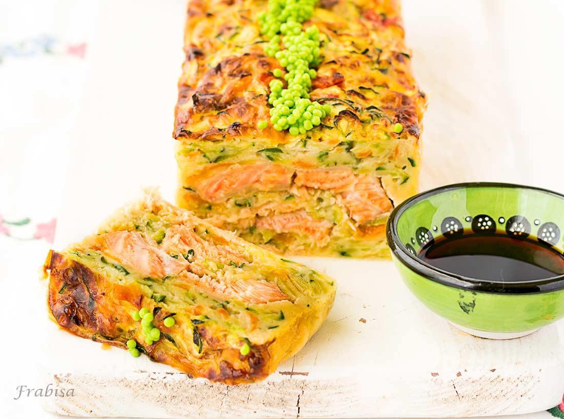 Cocinar Con Jengibre Fresco   Pastel De Verduras Con Salmon Fresco Al Jengibre Cocina Asiatica