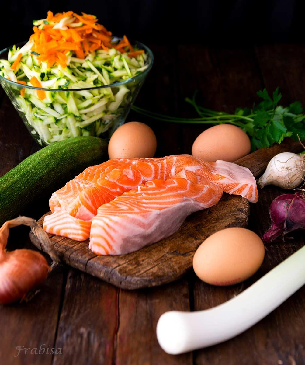 pastel verduras salmon fresco 3