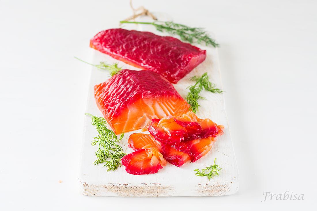 Salmón marinado, (gravlax) con remolacha - La Cocina de Frabisa La Cocina de  Frabisa