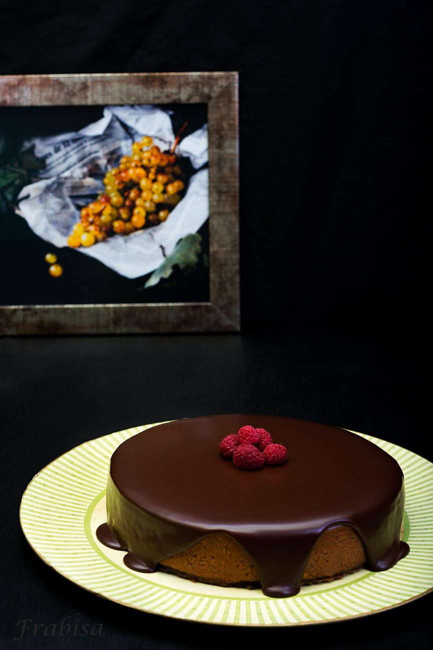 Tarta-queso-nutella-chocolate
