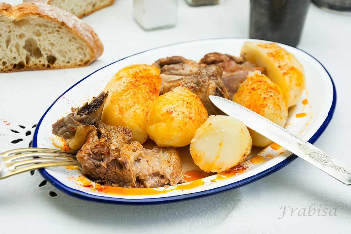 carne-caldeiro, cocina gallega