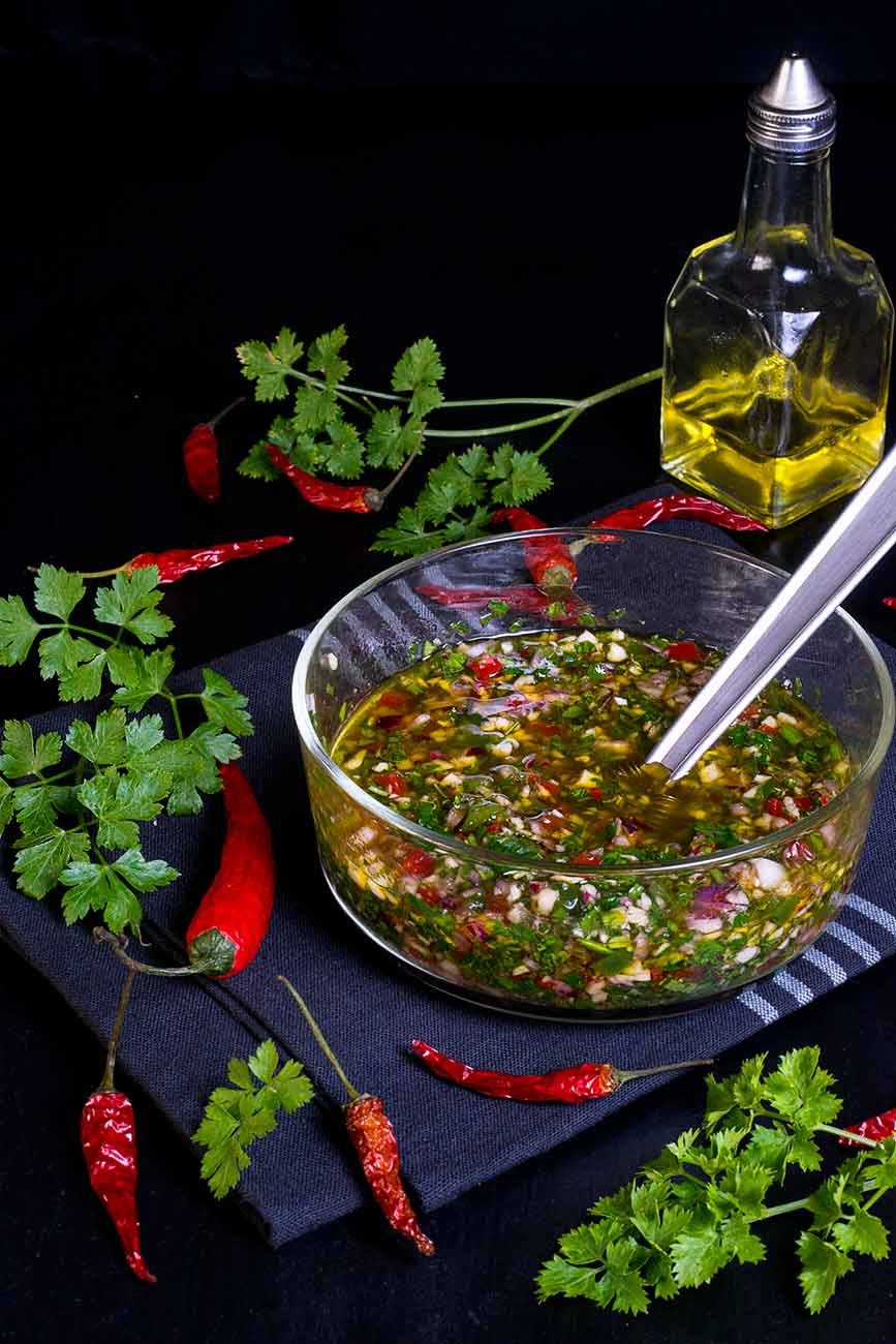chimichurri-salsa, receta
