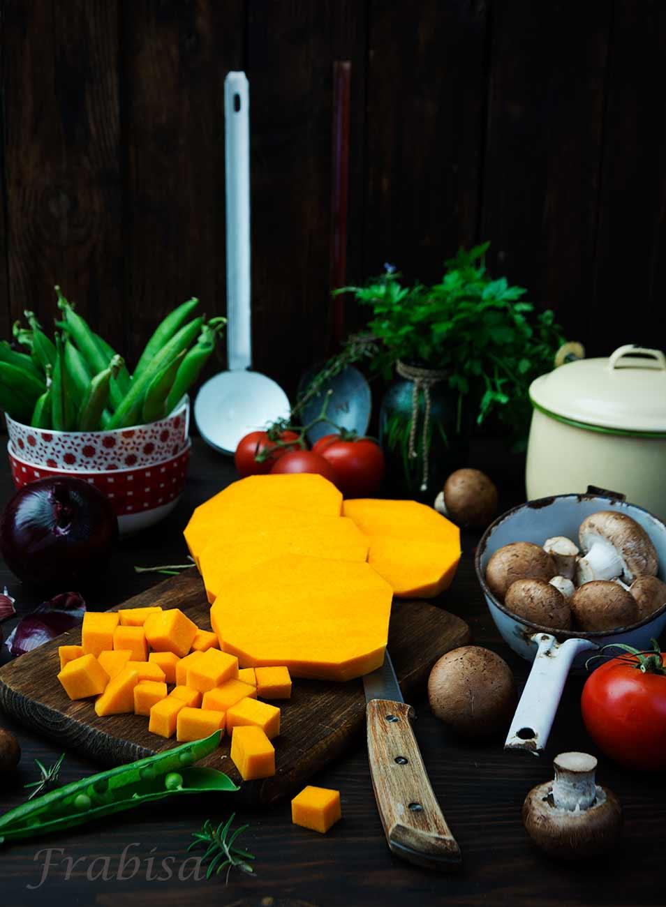 risotto-de-iberico-calabaza, arroz, jamon, guiso
