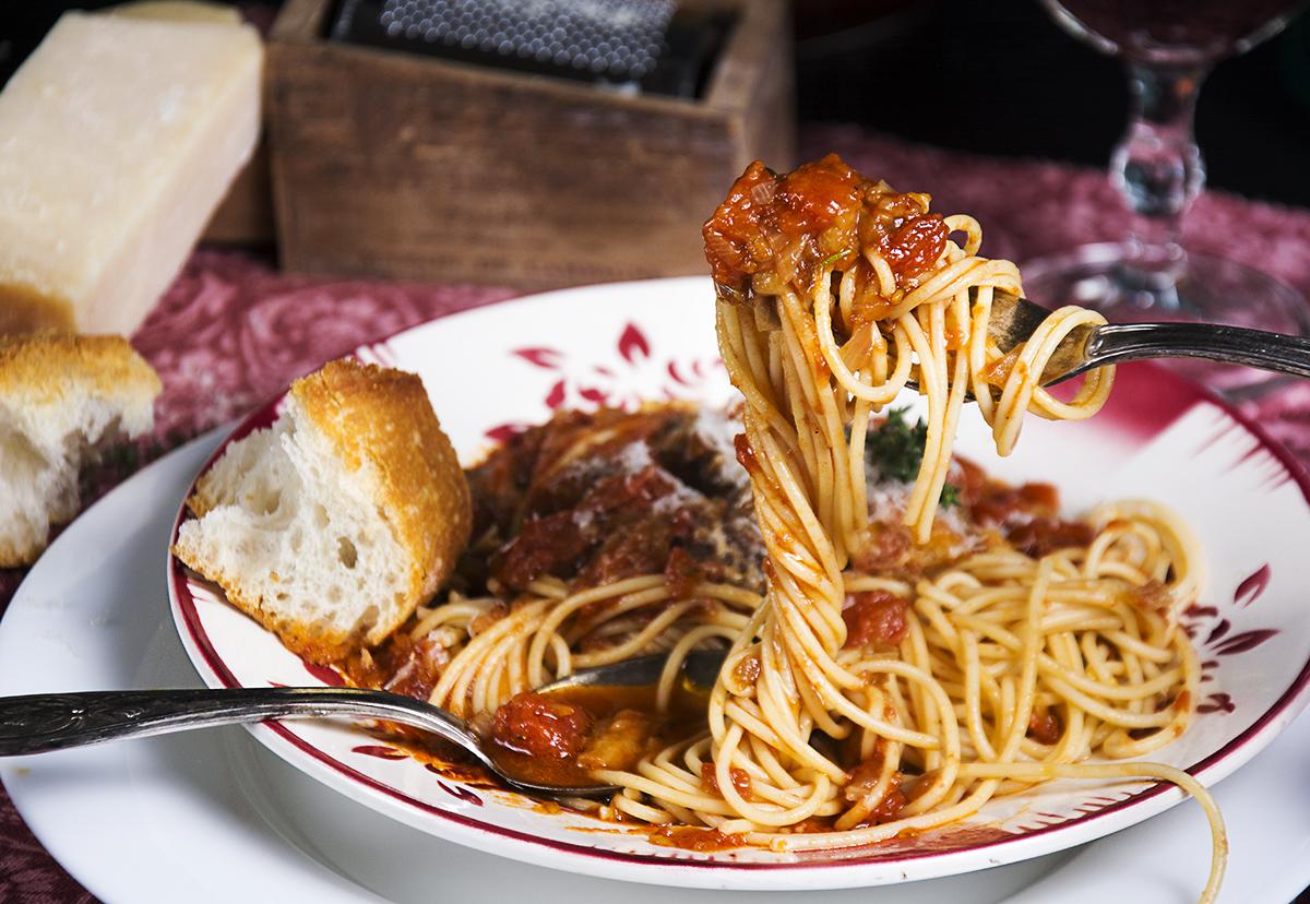 espaguettis con berenjena la cocina de frabisa la cocina