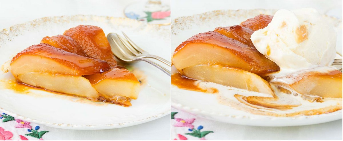 tatin-peras-tarta, receta