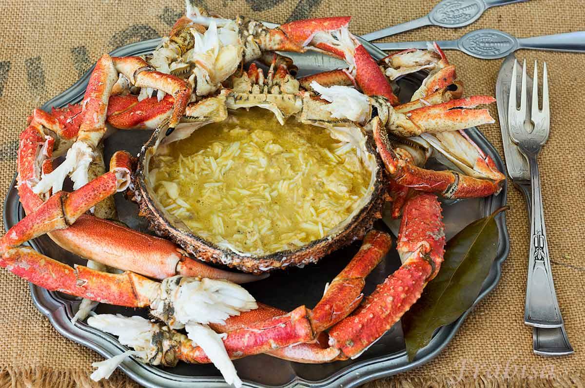 Centollo a gallego receta la cocina de frabisa la - Como cocinar un buey de mar ...