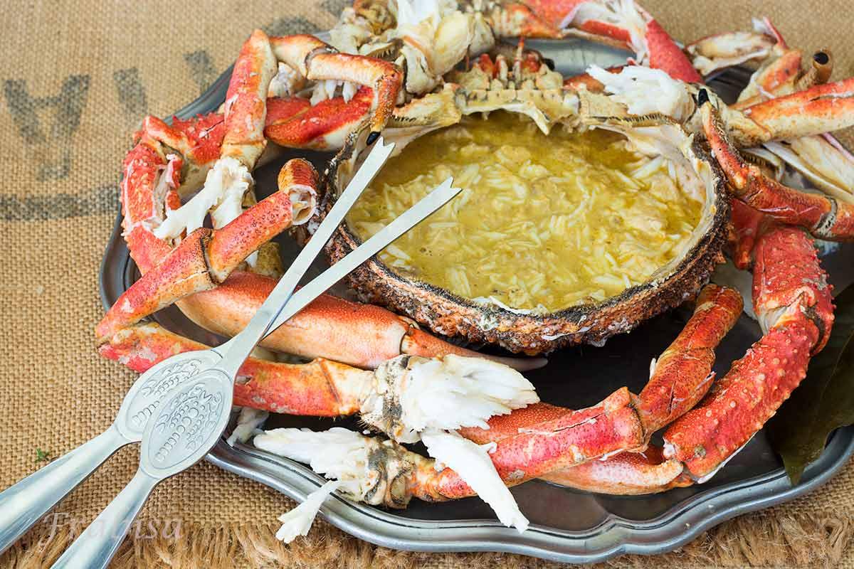 Centollo a gallego receta la cocina de frabisa la for Cocinar un centollo