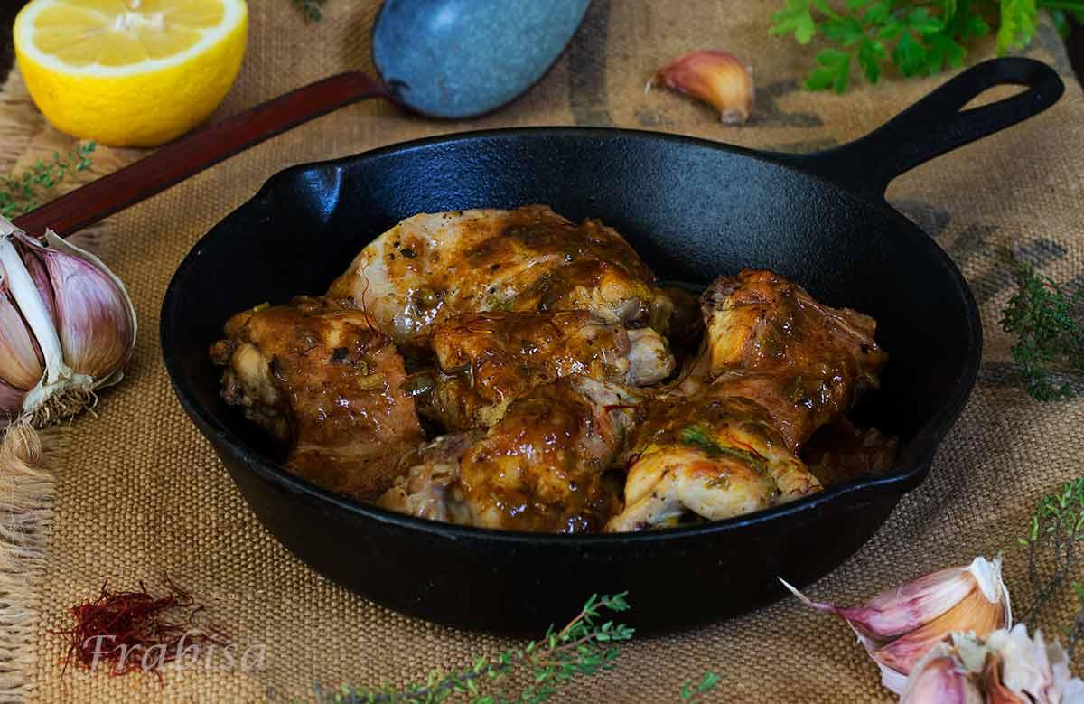 Conejo al ajillo cocina tradicional la cocina de for Cocina tradicional