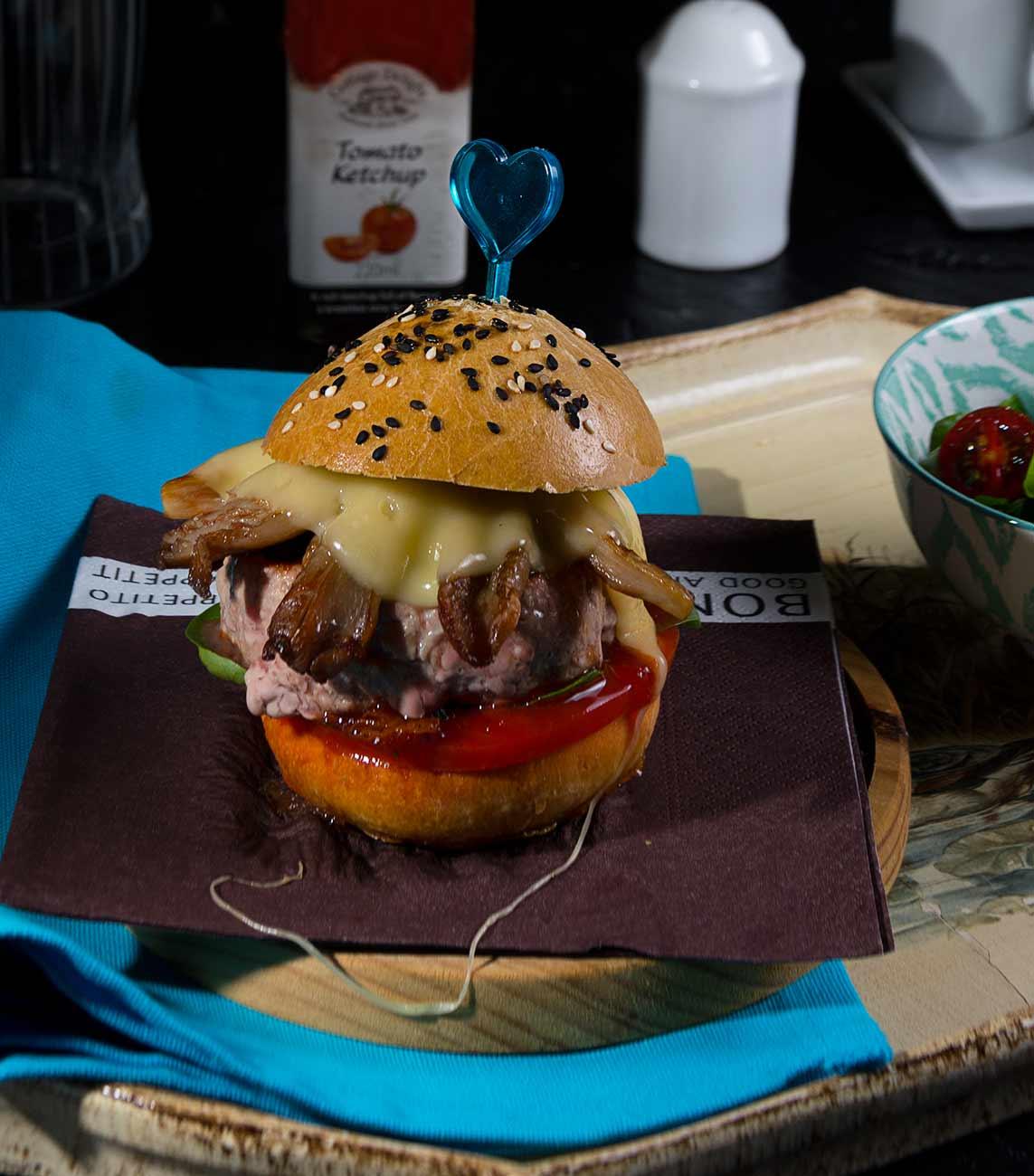 hamburguesa-setas