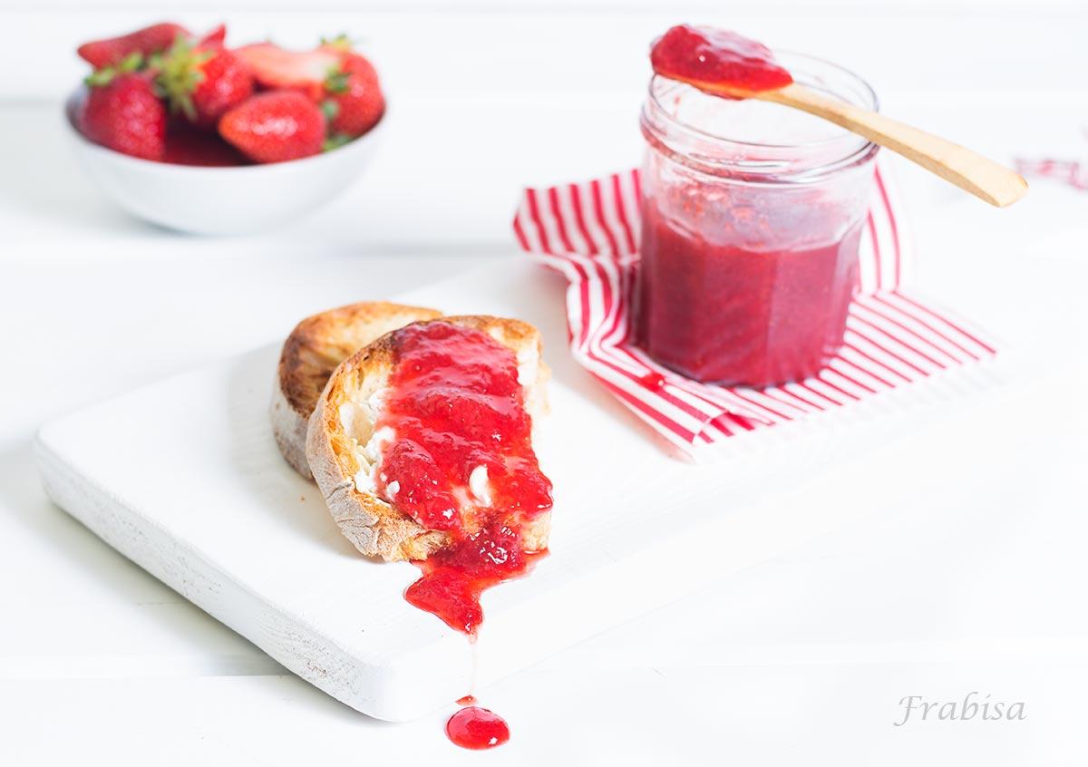 mermelada, confitura, jalea, fresas, casero