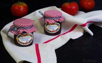 mermelada, tomate, conservas