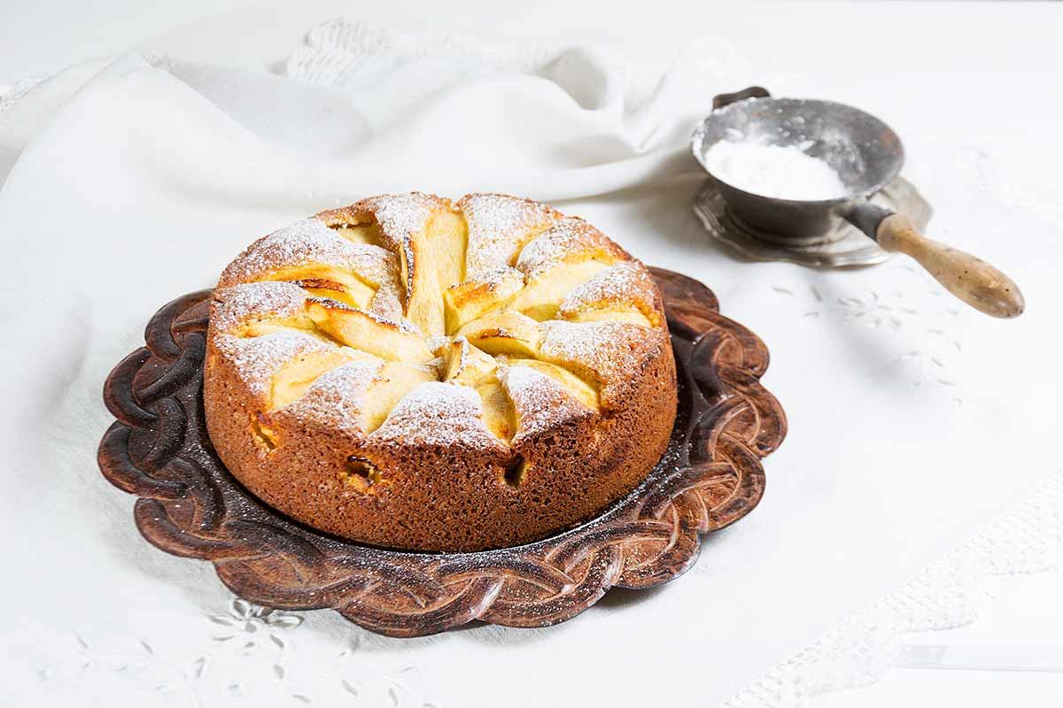 Bizcocho de manzana y limón - La Cocina de Frabisa