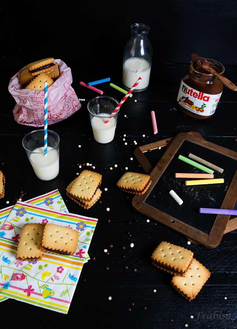galletas, chocolate, nutella, cole, niños