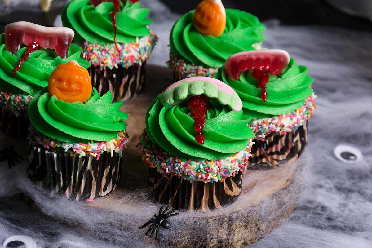 Cupcakes para Halloween. Fácil