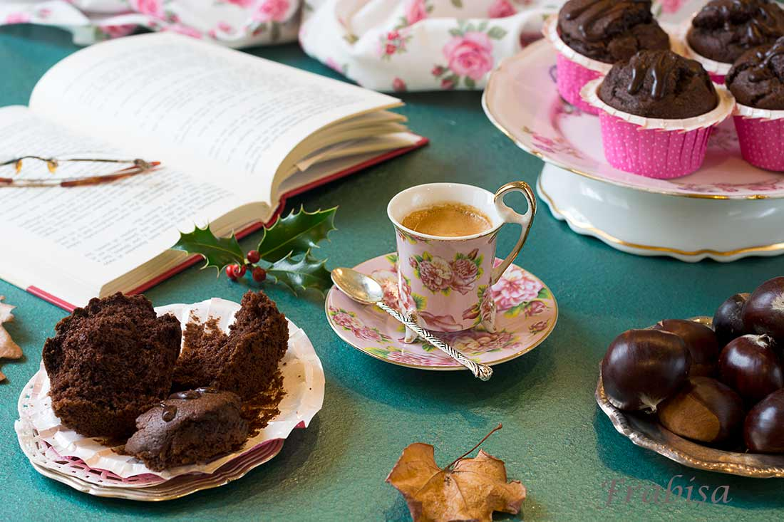 muffins, chocolate, platano, castañas 2