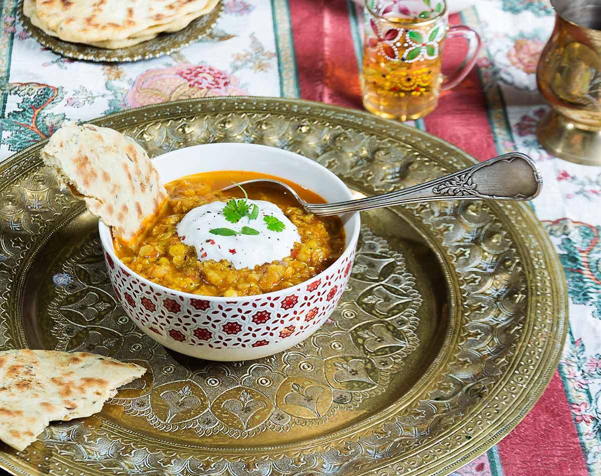 Recetas Cocina Hindu | Sopa De Lentejas Channa Dal Cocina Hindu La Cocina De Frabisa