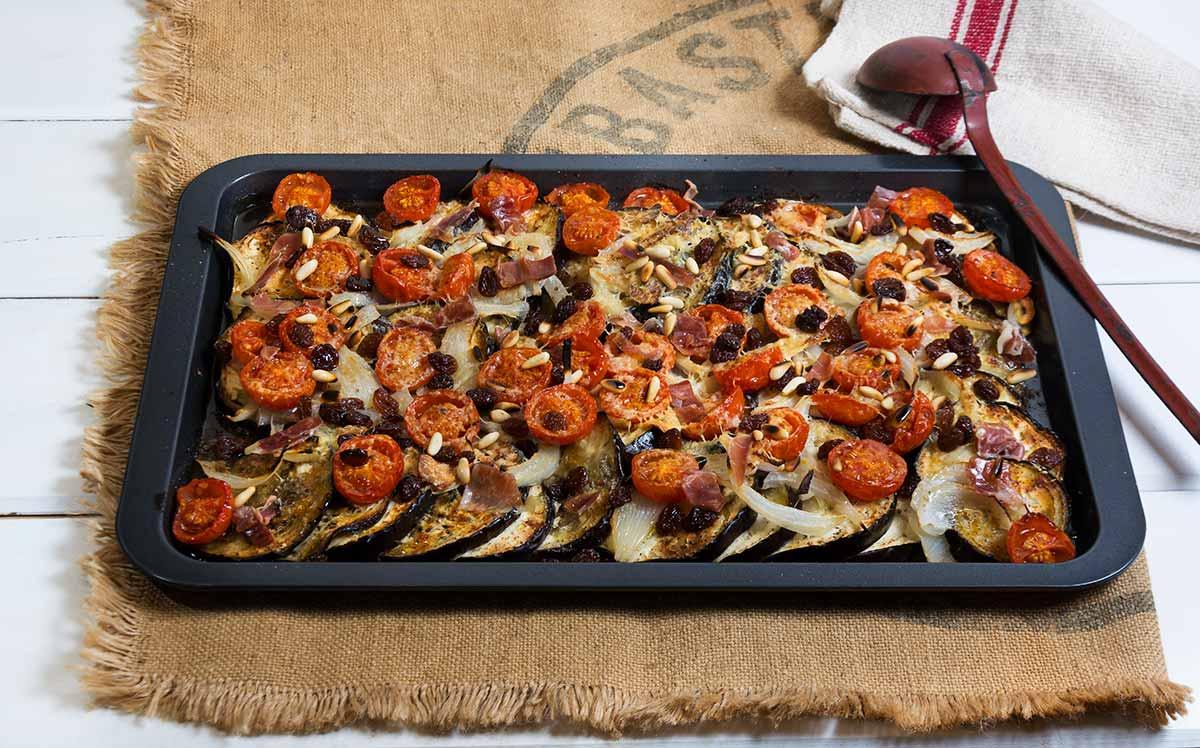 Berenjenas horno estilo jamie oliver la cocina de for Jamie oliver utensilios de cocina