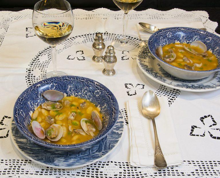 Fabes con almejas cocina asturiana la cocina de frabisa for Cocina asturiana