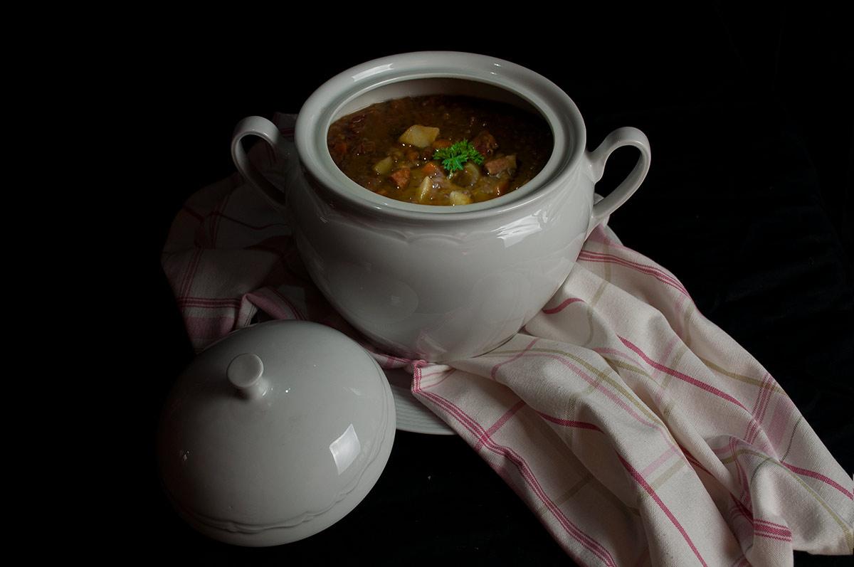 Lentejas guisadas con chorizo y patatas la cocina de frabisa la cocina de frabisa - Lentejas con costillas y patatas ...