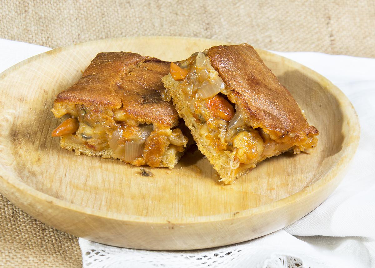 Empanada de millo ma z y zamburi as cocina gallega for Cocinar xoubas