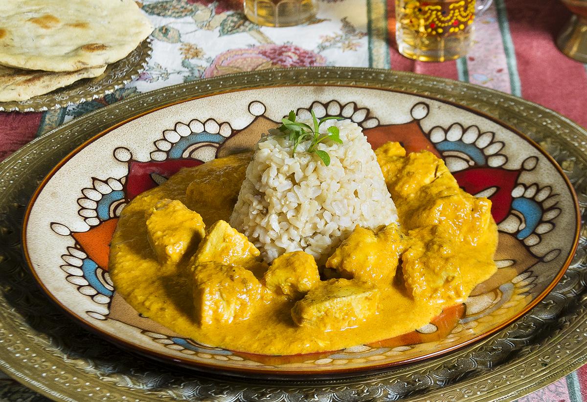 Cocina Hindú | Curry De Pollo Con Roti Murgh Chicken Curry Cocina Hindu La