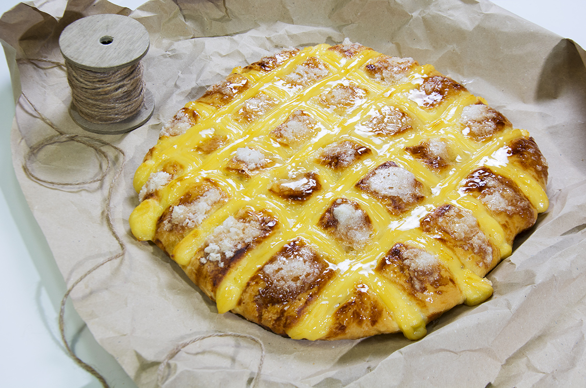La Cocina Gallega | Tarta Larpeira De Crema Pastelera Cocina Gallega La Cocina De