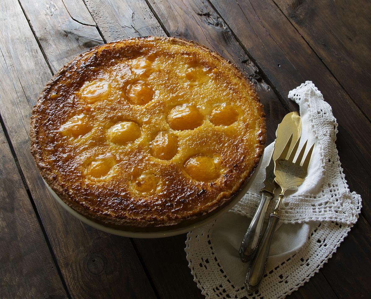 tarta albaricoques