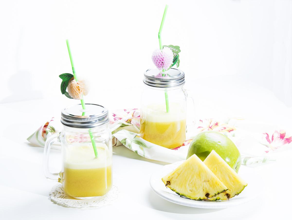 Zumo natural de pi a y manzana la cocina de frabisa la for Cocinar xoubas