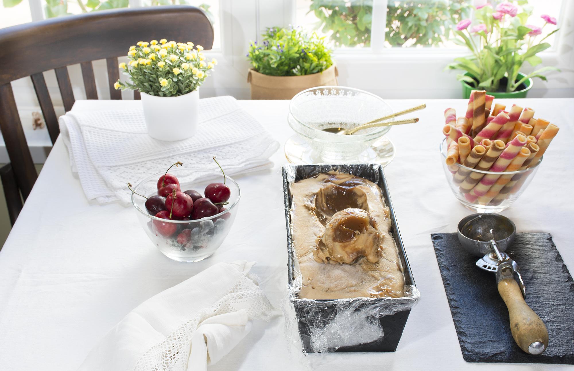 helado marmolado de dulce de leche 1